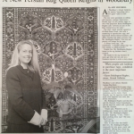 A New Persian Rug Queen Reigns in Woodbury